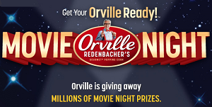 Orville Redenbachers Movie Night Orville Redenbachers Instant Win Game (Over 2.7 Million Winners)