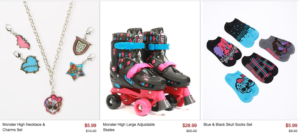 Screen Shot 2014 04 30 at 8.54.29 AM *HOT* Monster High Collection Sale = Items As Low As $5.99