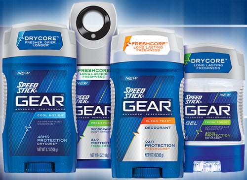 Speed Stick GEAR Target: Speedstick Gear Deodorant Only $0.32