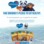 FREE Barbara's Pledge Instant Win Game (750 Winners)