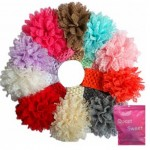 10 Piece Girl's Lace Flower Headband Hair Accessories Set Only $6.14 + FREE Shipping!