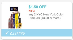 Target: NYC Lip Shine Only $0.92
