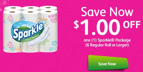 *HOT* Sparkle Paper Towels Only $0.29!