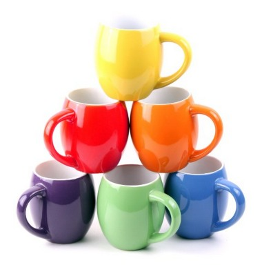*HOT* Set of 6 Colorful Ceramic Coffee Mugs Only $9.99 Shipped (Reg. $79!)