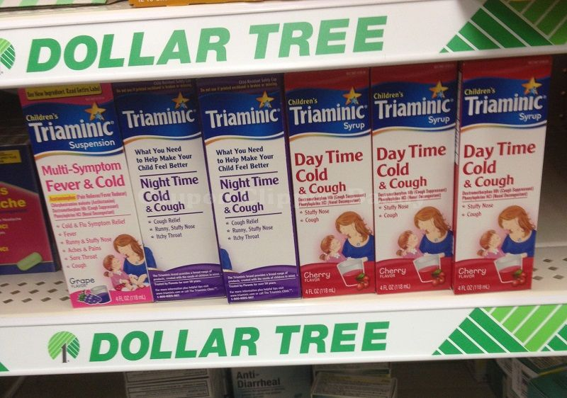 dollartree *HOT* FREE Triaminic Medicine!
