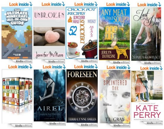 List of 10 FREE Ebooks from Amazon! 4/20