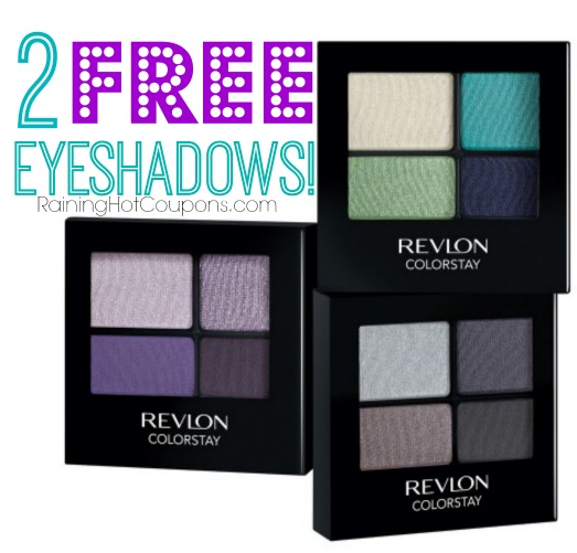 *HOT* CVS: 2 FREE Revlon Eyeshadows!