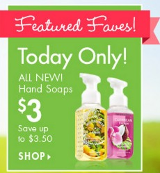 Bath & Body Works: *HOT* Hand Soaps Only $2 Or just $2.60 Shipped