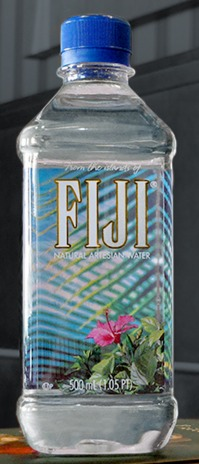 FREE Fiji Water Bottle!