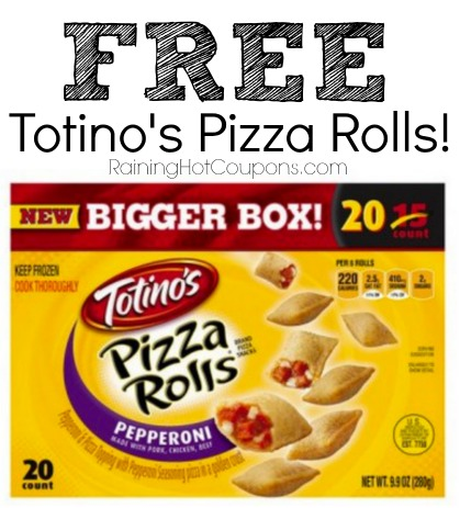 *HOT* FREE Totinos Pizza Rolls 20ct Box!