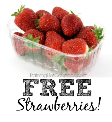 *HOT* FREE Carton of Strawberries at Target!