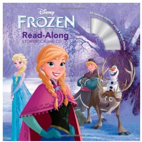 *HOT* Frozen Read Along Storybook and CD Only $4.13!