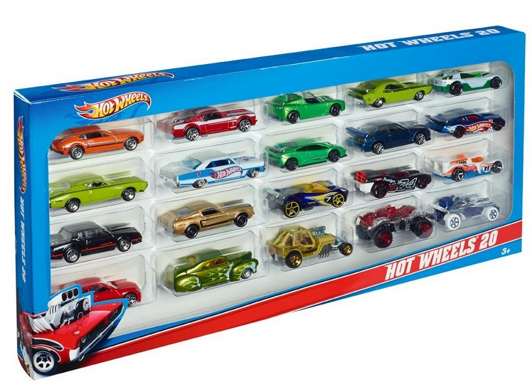 Hot Wheels 20 Car Gift Pack Only $12.74 (Reg. $21.99) = Each Car Only $0.67!