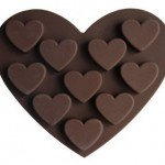 Silicone 10 Heart-Shaped Handmade Chocolate or Soap Mold $2.99 + FREE shipping