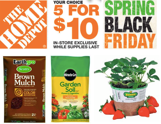 Bag Mulch From Home Depot Spring Sale Scale