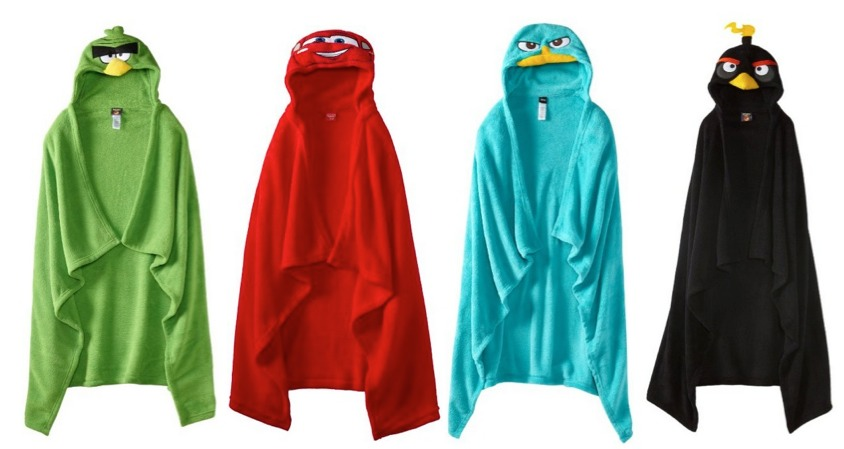 Amazon *HOT* Boys Sleepwear Hooded Wrap Blankets $4.96 (Reg. $34!)