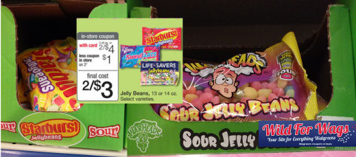 jelly beans with ad pic7w Warhead Sour Jelly Beans as low as Free at Walgreens