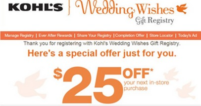 *HOT* Kohls: $25 off $25 Purchase!