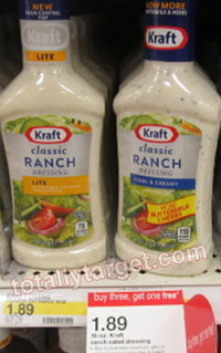 kraft dressing deal Target: Kraft Dressing As Low As $0.92