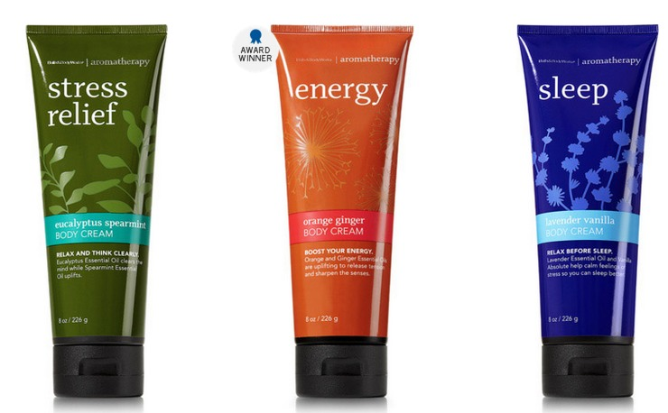 Bath & Body Works: *HOT* Aromatherapy Body Cream Only $5.20 Shipped (Reg. $15!)   Or $5 In Store!