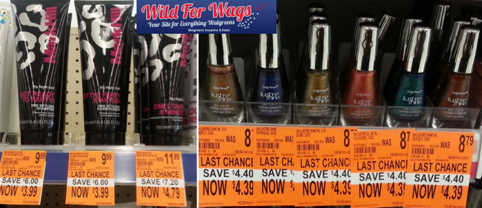 mark hill sally hansen7 3w Walgreen: *HOT* Clearance on Sally Hansen Nail Polish AND Mark Hill Shampoo