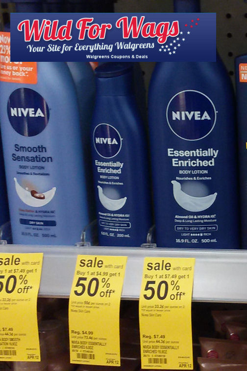 nivea 27w Walgreens: Nivea Body Lotion Only $1.74 (Thru 4/12)