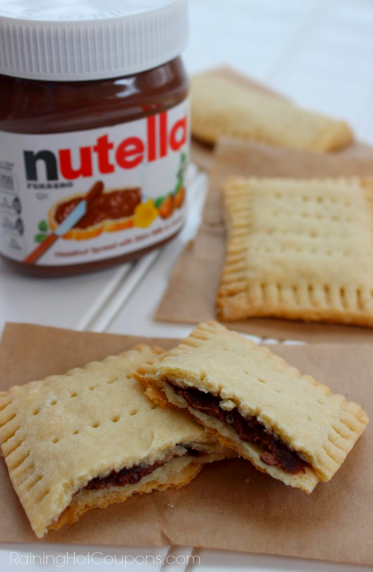 nutella pop tarts.png Homemade Nutella Pop Tarts