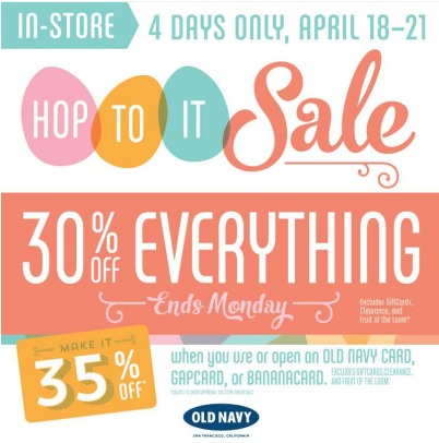*HOT* Old Navy: 30% Off ENTIRE Store + $20 Back for Every $25 Spent and $8 Dresses (Reg. $25)!