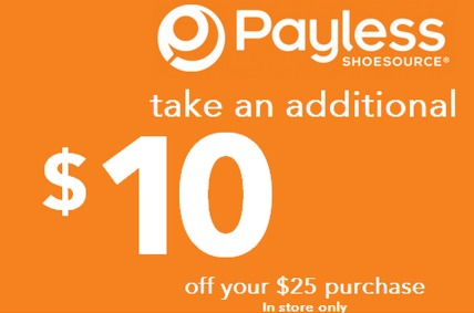 Payless coupons 10 off 2019