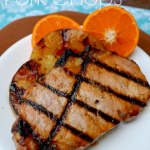 Taste of the Islands Orange Pineapple Pork Chops