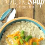 6-Ingredient Cheesy Potato Soup