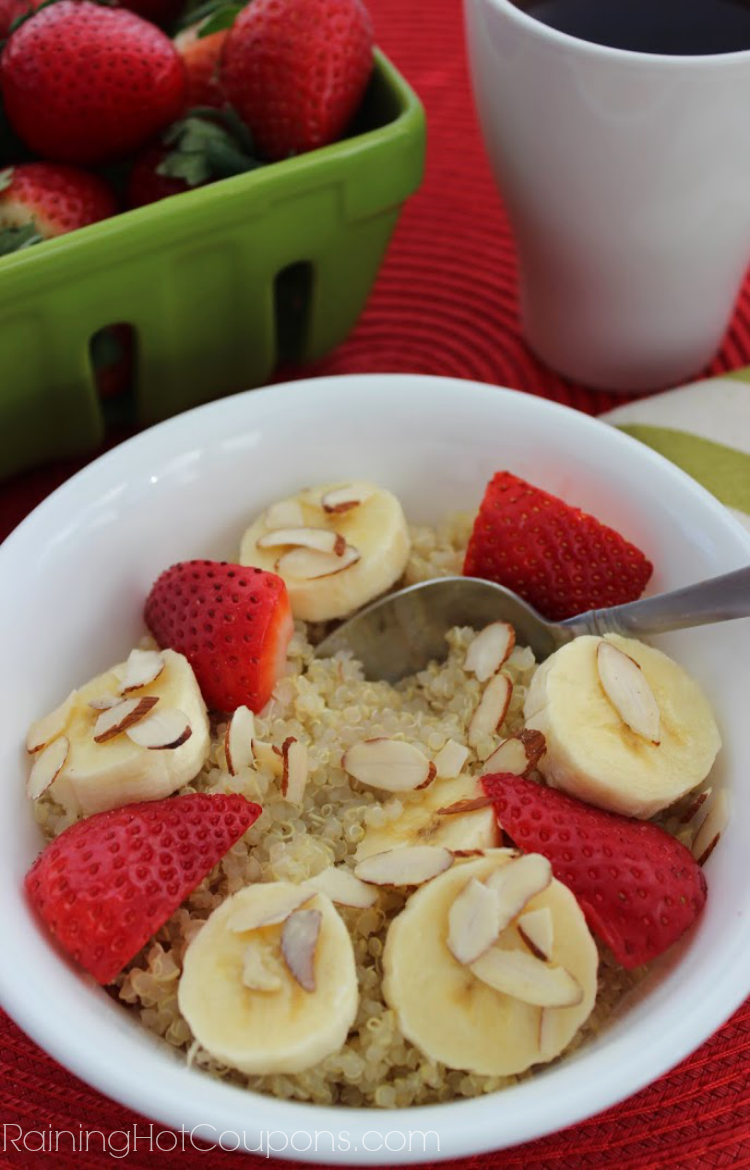 quinoa.png Strawberry Banana Quinoa Breakfast