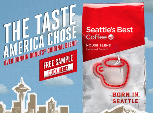 FREE Seattles Best Coffee Sample! (First 190,000!)