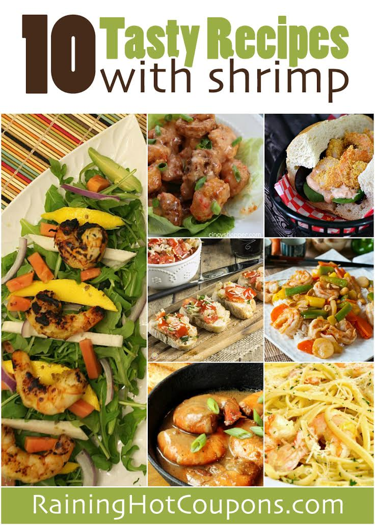shrimp 10 Tasty Recipes with Shrimp