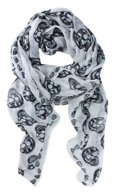 skull Amazon: Big Skull Scarf Only $2.99 Shipped