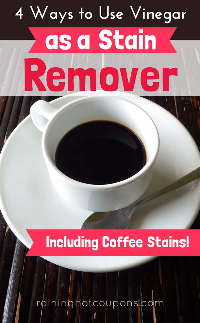 stain 4 Ways To Use Vinegar As A Stain Remover