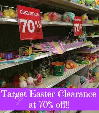 target1 Target: 70% Off Easter Items!