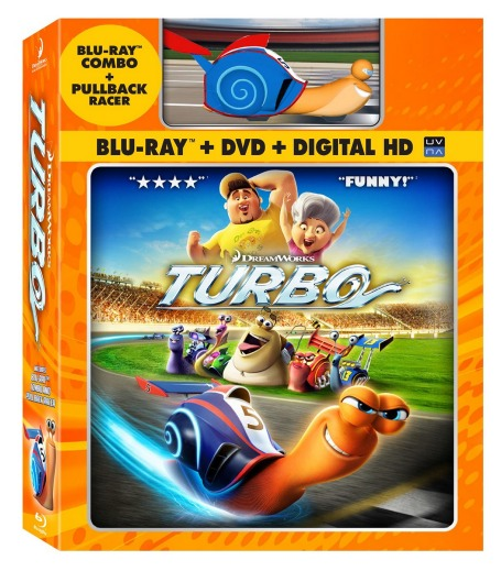 Amazon: Turbo (Blu ray / DVD Combo + Toy Racer) Only $13 (Reg. $38.99)!