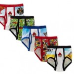 Boys Angry Birds 5 Pack Brief Only $5.99!
