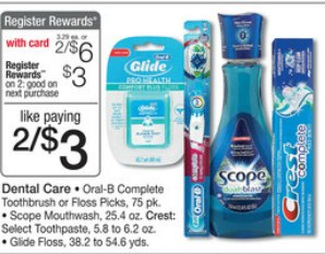 walgreens Oral B Complete Toothbrushes Only $0.75 Each at Walgreens!