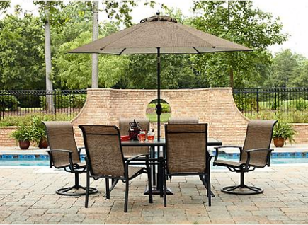 yard *HOT* Garden Oasis Harrison 7 Piece Dining Set Only $226 Shipped (Reg. $599.99)