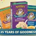 FREE Box of Annie's Organic Homegrown Macaroni & Cheese (2,500 Winners!)