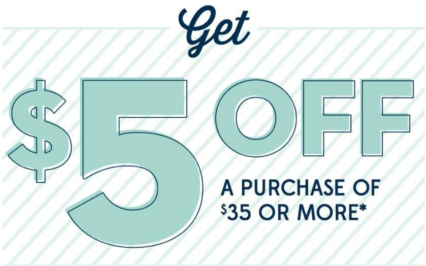 OLD Old Navy: $5 Off a $35 Purchase Coupon!