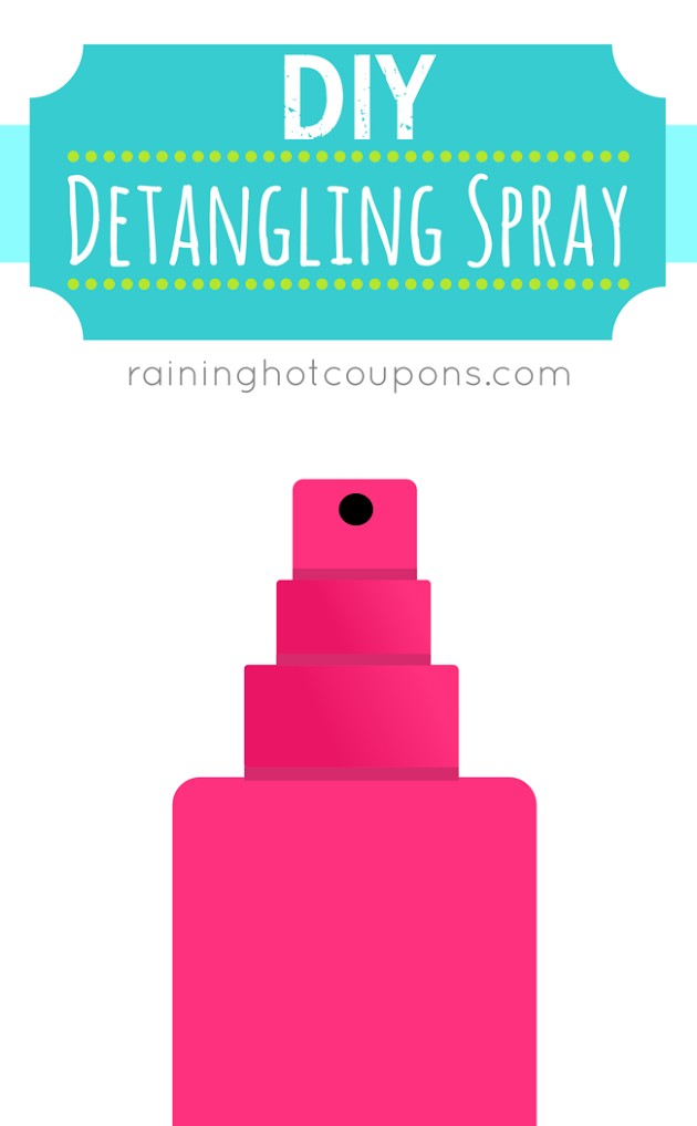 SPRAY DIY Detangling Spray
