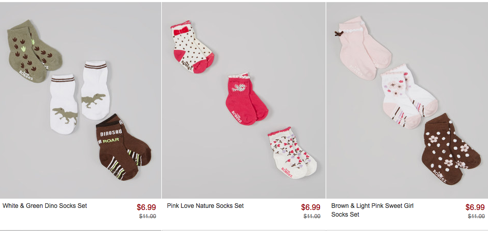 Screen Shot 2014 05 03 at 8.51.26 AM Zulily: Roobeez Shoes and Socks As Low as $6.99