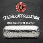 Chiplote Teacher Appreciation Day: B1G1 FREE With Valid School ID (5/6 Only)!