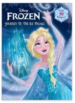 Disney Frozen Journey To The Ice Palace Jumbo Coloring