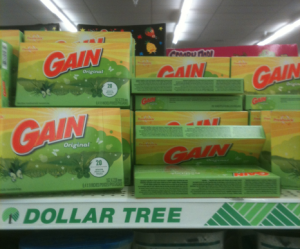 gain Box of Gain Dryer Sheets Only $0.50!