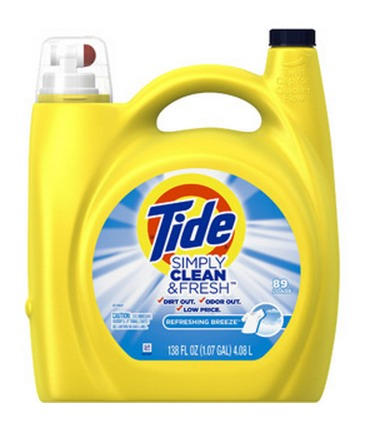 *HOT* FREE 138 fl oz Bottle of Tide Clean & Fresh Liquid Laundry Detergent + FREE Shipping!