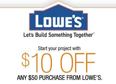 Lowe's Coupons Top Brands & Savings· + Coupons Available· New Offers Added Daily.